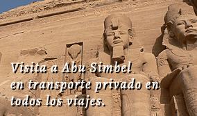 Viaje a Abu Simbel en Transporte Privado