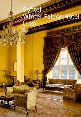 Sofitel Winter Palace Hotel (Old Wing), Luxor