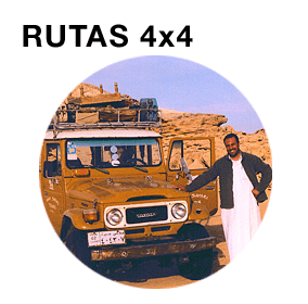 Rutas en 4x4. Oasis Occidentales. Bahariyya, Farafra, Dakhla y Kharga. Oasis de Siwa