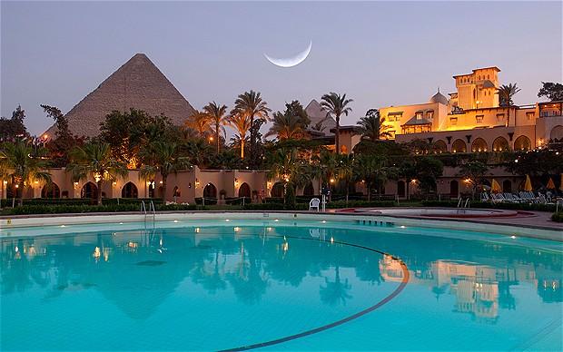 Resultado de imagen de mena house hotel cairo