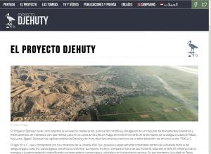 Proyecto Djehuty - Sunt Viajes Egipto