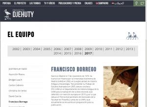 Proyecto Djehuty 3 - Sunt Viajes Egipto