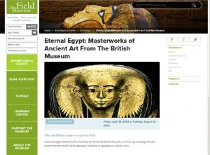 Enlaces The Field Museum - Sunt Viajes Egipto